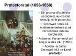 protectoratul 1653 1658
