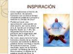 inspiraci n