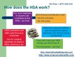 how does the hsa work
