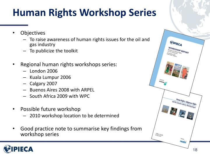 Human Rights Workshop Series