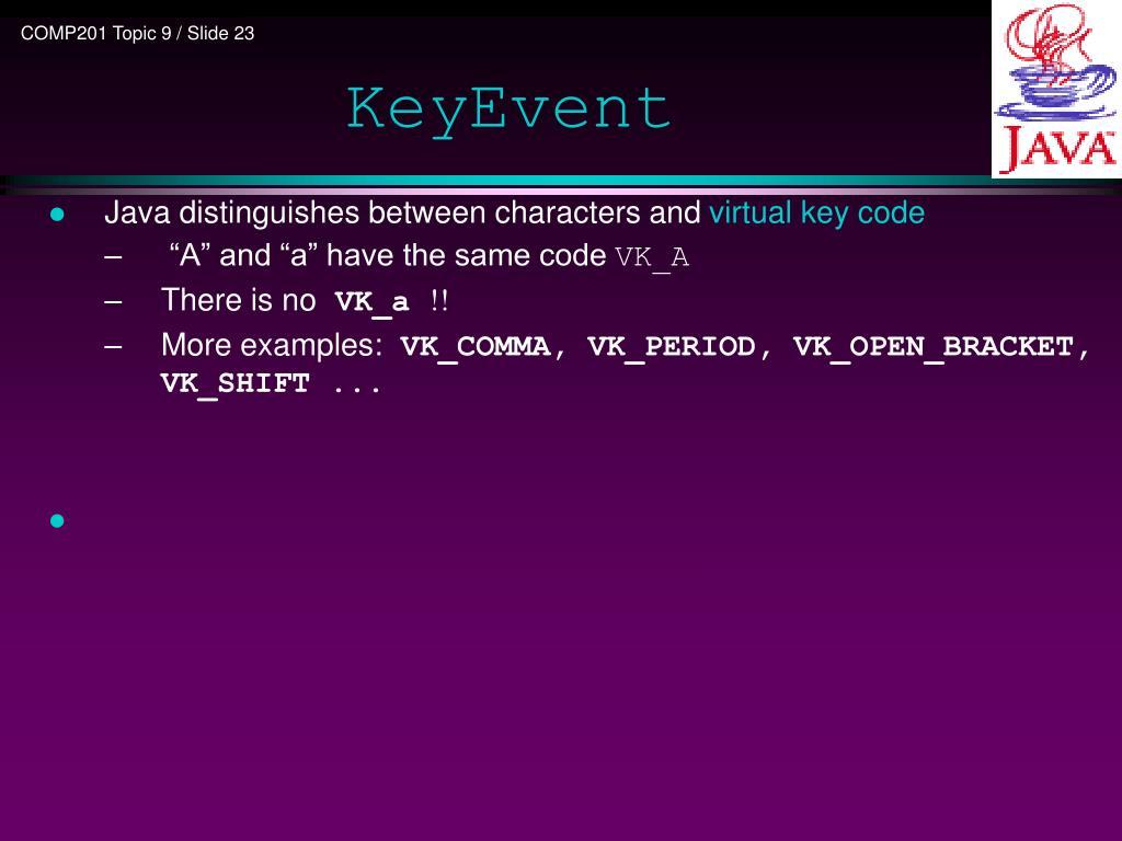 PPT - COMP201 Java Programming PowerPoint Presentation - ID