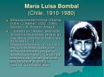 mar a luisa bombal chile 1910 19803