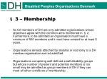 3 membership