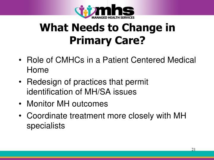 What Needs to Change in Primary Care?