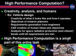 high performance computation1