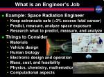 what is an engineer s job
