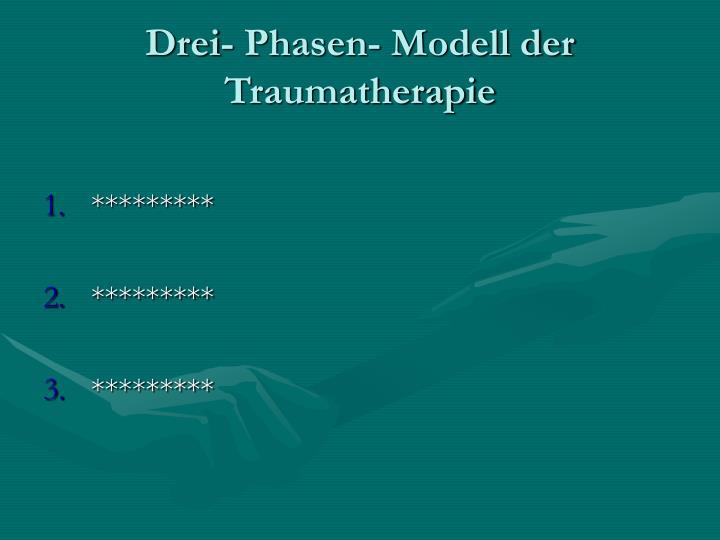 Drei- Phasen- Modell der Traumatherapie