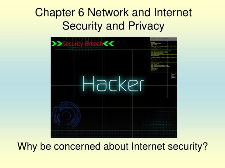 why be concerned about internet security n.