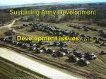 sustaining army development3