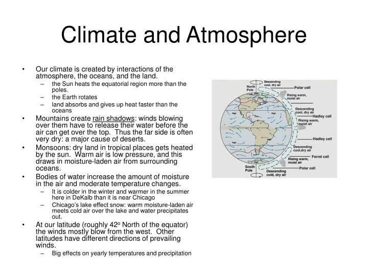 Climate and Atmosphere