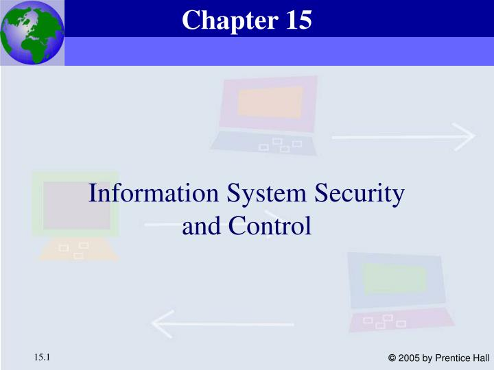 information system security and control n.
