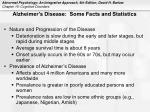 alzheimer s disease some facts and statistics