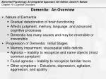 dementia an overview