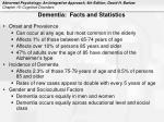 dementia facts and statistics