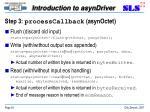 step 3 processcallback asynoctet