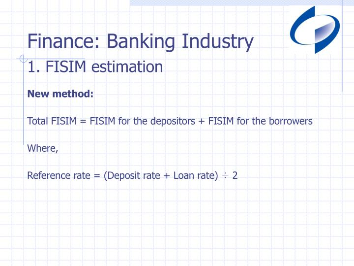 Finance: Banking Industry