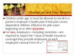 obamacare and your ministry1