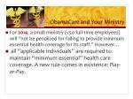 obamacare and your ministry2
