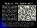 mosaico m c escher 1957