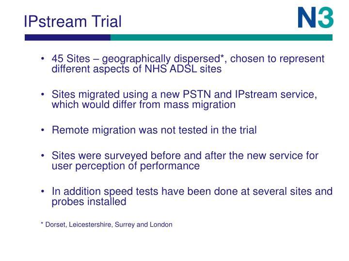 IPstream Trial