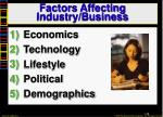 factors affecting industry business