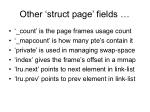 other struct page fields