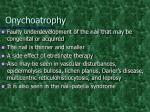 onychoatrophy