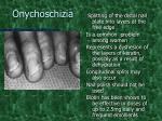 onychoschizia