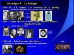 historique 4 la biologie