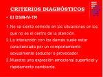 criterios diagn sticos