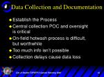 data collection and documentation