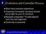evaluation and controller process1