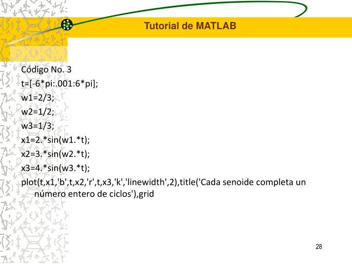 Código No. 3