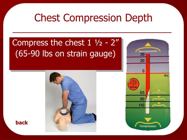 Chest Compression Depth