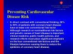 preventing cardiovascular disease risk1