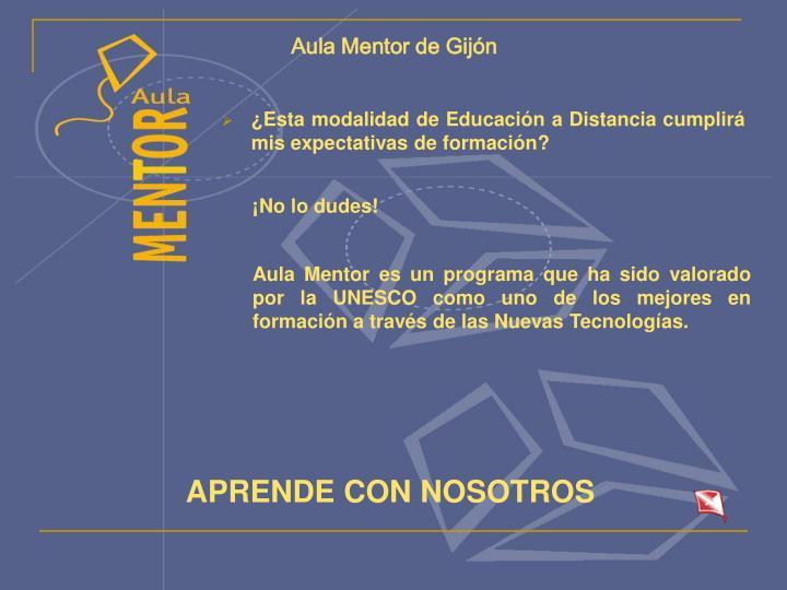 Aula Mentor de Gijón