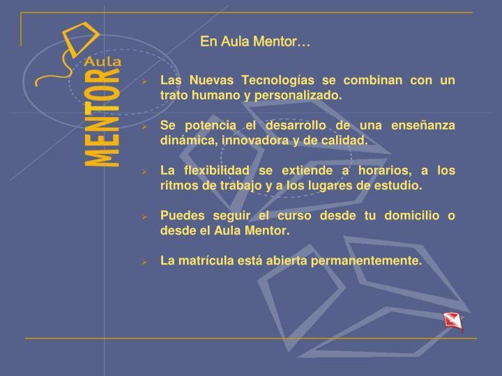 En aula mentor