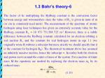 1 3 bohr s theory 6