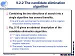 9 2 2 the candidate elimination algorithm4