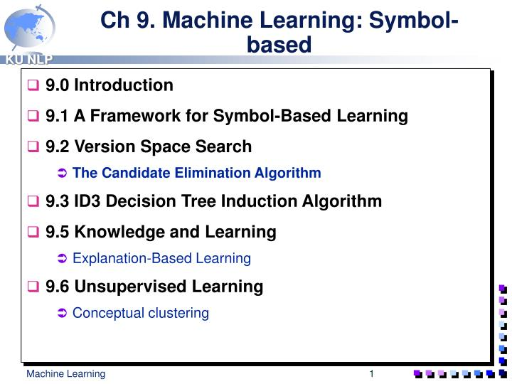 ch 9 machine learning symbol based n.
