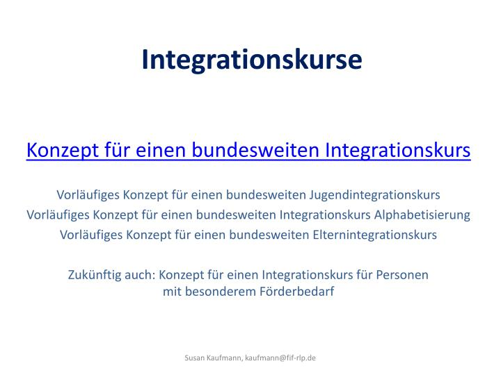 Integrationskurse1