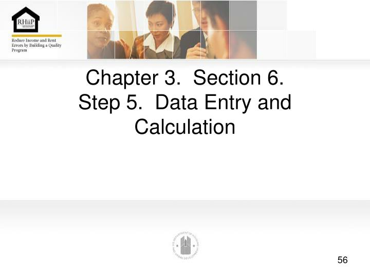 Chapter 3.  Section 6.