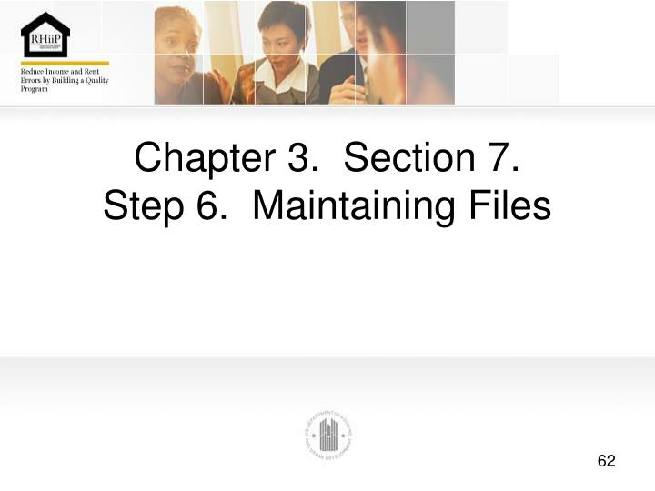Chapter 3.  Section 7.