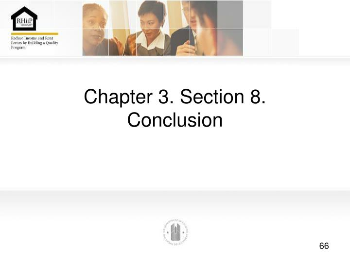 Chapter 3. Section 8.