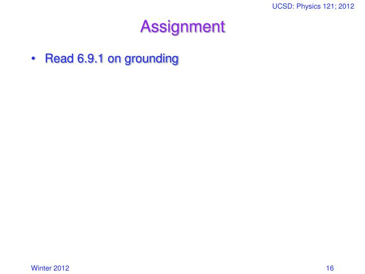 UCSD: Physics 121; 2012