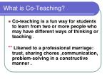what is co teaching1