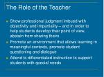 the role of the teacher1