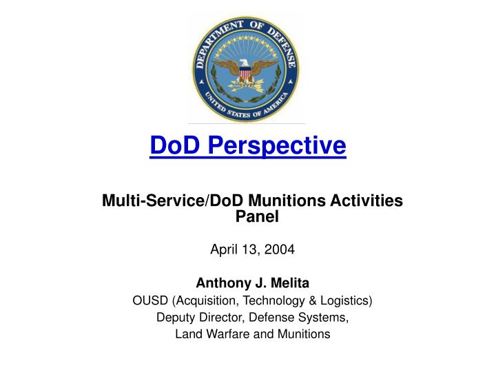 dod perspective n.