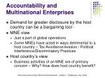 accountability and multinational enterprises