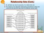 relationship sets cont